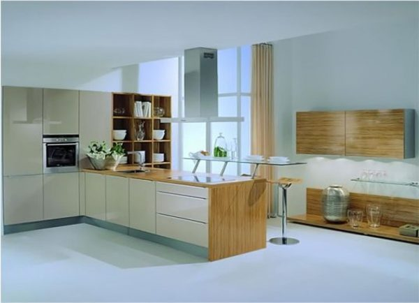 Acrylic kitchen