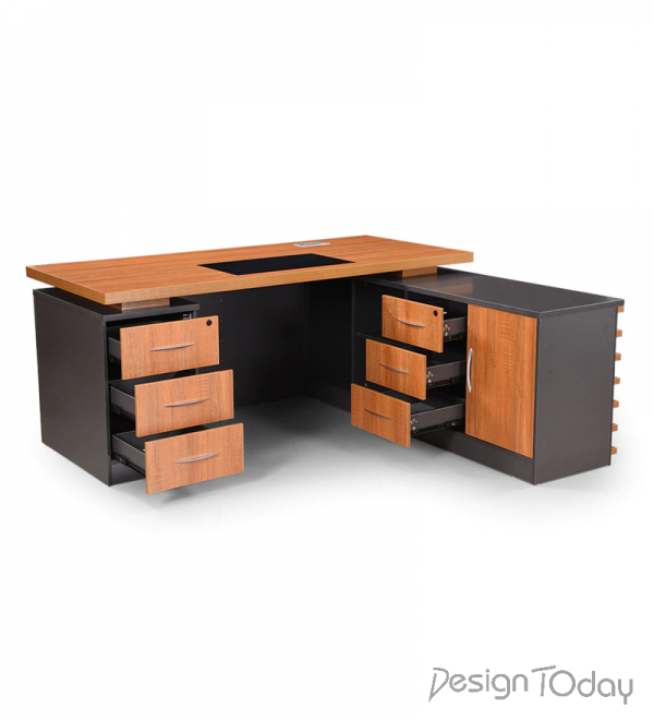 Executive Table in Dual Tone Finish by Montage