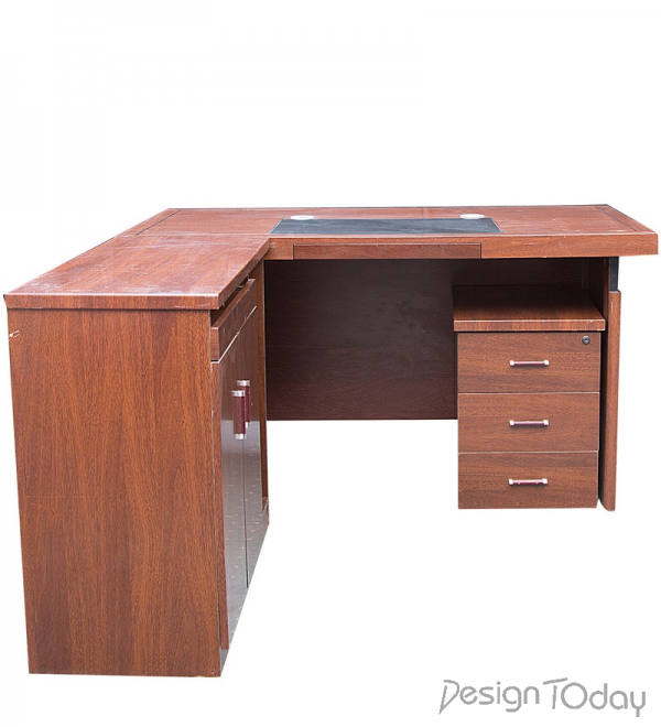 Executive Office Table in Brown Color by Montage