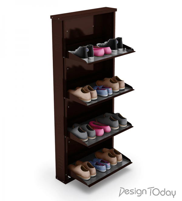 Four Door Steel Shoe Rack